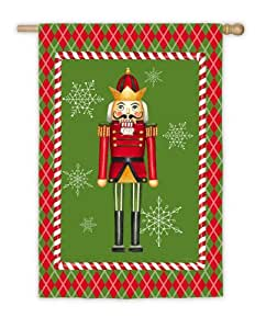 Regal Nutcracker House Flag