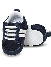 Logobeing Zapatos 0-18 Años, Zapatos de Bebé para Bebés Dibujos Animados Estrella Conejo Orejas Chirriantes Single Zapatillas