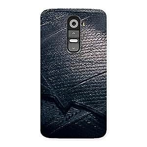 Impressive Knight Suit Black Print Back Case Cover for LG G2