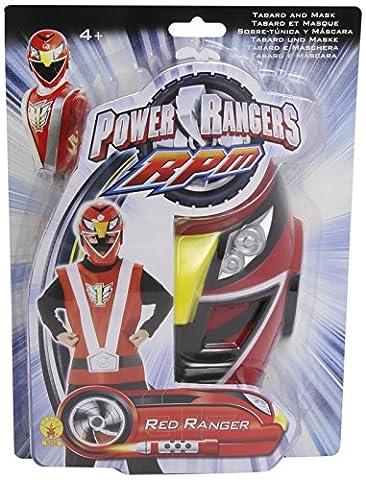 Kit Power Rangers rouge enfant