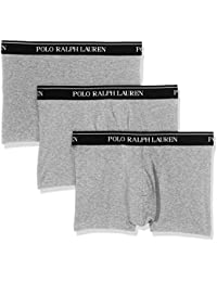 Polo Ralph Lauren 3 Pack Trunks, Short Homme, Grau (3PK AN Htr BB3AN), S (lot de 3)