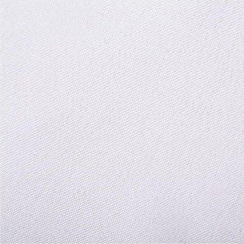 Liuyu Kitchen Home Mode Hôtel Serviette Tissu Solide Couleur Bouche Tissu Plateau de Thé Serviette Restaurant 48 * 48 cm ( Couleur : Blanc , taille : 10 Pcs/Set )