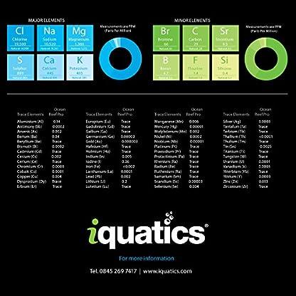 iQuatics Ocean Reef Pro Marine Saltwater Coral Premium Aquarium Salt - 10KG - Refill 2