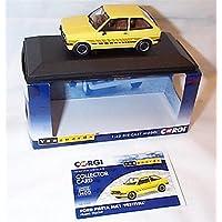 corgi vanguards prairie amarillo ford fiesta MKI festival coche 1.43 escala modelo fundido