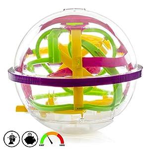Silica-DMX108 Maze Ball, Multicolor (DMX108)