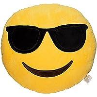 EVz Emoji Smiley Emoticon cojín relleno Plush Soft Almohada 2