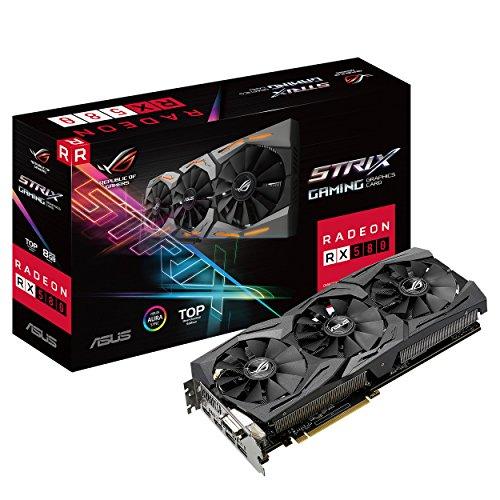 ASUS ROG Strix Radeon RX 580 TOP 8GB