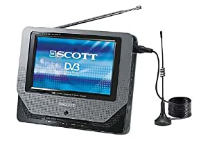 "Scott MTV 78 HT Téléviseur LCD portable Ecran TFT 7""  TNT"