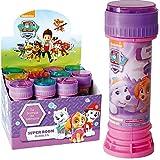 6X Seifenblasen * PAW Patrol - SKYPE & Everest * als Mitgebsel zum Kindergeburtstag, Sommerparty und Kinderparty ┃ Kinder lieben Diese Bubbles | Spiel & Spaß in Pink