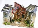 De Sisinno Borgo 4Casas para belén–Dim. H22x 30x 20cm