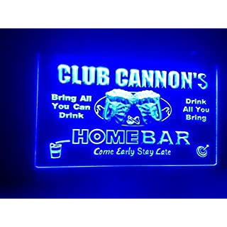 Name Personalised Custom Home Bar Neon Sign man cave decor