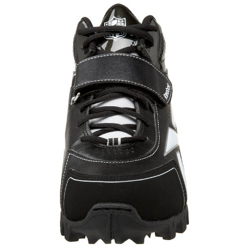 Reebok NFL Thorpe III AT Leder Klampen Black/White