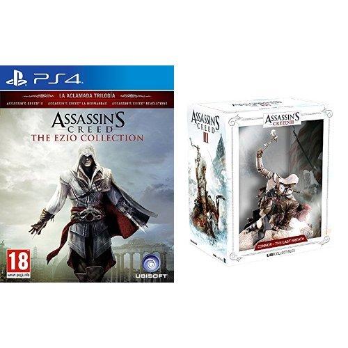 Assassin's Creed: The Ezio Collection + Figura Assassin's Creed Connor The Last Breath