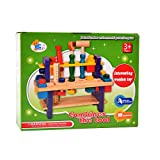 #9: IGP Creative Wooden Tool Set Assembly Toy for Kids