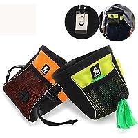 91b787bff4 Kismaple Sacchetto di cibo per cani, sacchetto di trattamento del cane,  Animale domestico Formazione