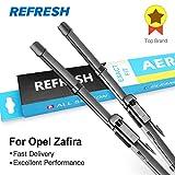 RAISSERREFRESH Wiper Blades for Opel Zafira A/Zafira B/Zafira Tourer C Model Year from 1997 to 2018