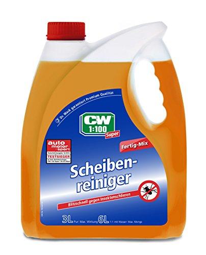CW1:100  1741 Super Scheibenreiniger Fertiggemisch für die Scheibenwaschanlage gebrauchsfertig,3 Liter