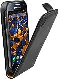 mumbi PREMIUM Leder Flip Case Samsung Galaxy S4 mini Tasche