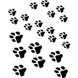Eulenspiegel 109359 - Facepainting Schablone - Paws