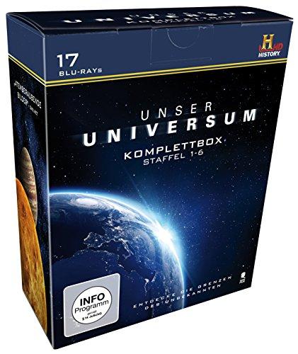 Unser Universum/Geheimnisse des Universums - Staffel 1-6 [Blu-ray]
