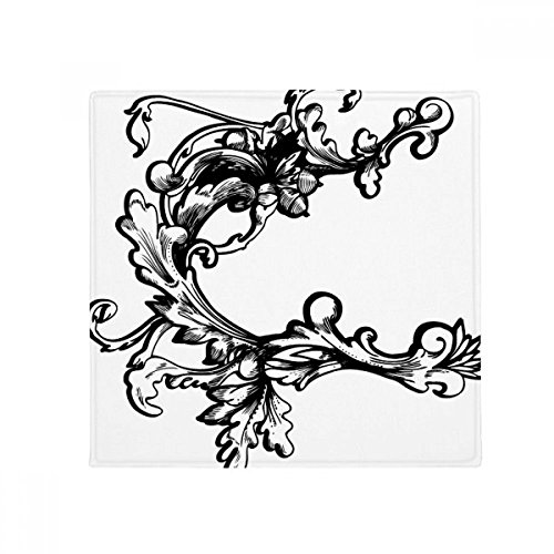 DIYthinker Barock Dekoration Blume Modern Muster Anti-Rutsch-Boden Haustier-Matten-Platz Badezimmer...