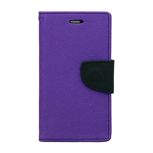 1by1 Flip Cover For HTC Desire 526G+ Dual Sim (Purple)  available at amazon for Rs.189