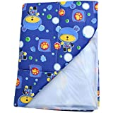 Dazzle Baby Diaper Changing Mat Waterproof Mat For Born Baby Bed Protector One Side Plastic Mat For Baby Boy Baby Girl - B07L4W4XBM