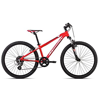 Orbea MX Dirt 15 Red White 24 Inch 7-Speed Bicycle for Children, D00924 N8