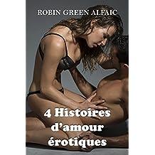 4 Histoires d'amour érotiques