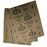 Pack von 6High Precision Polieren Schleifen Wet/Dry Schleifmittel Schleifpapier Blatt–Körnung 300050007000Deutschland