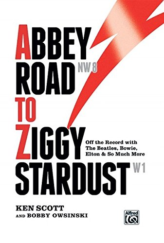 Price comparison product image Abbey Road to Ziggy Stardust: Off the Record with the Beatles,  Bowie,  Elton & So Much More,  Hardcover Book