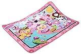 Fisher-Price BFL58 Große Spiel- und Krabbeldecke mit Tiermotiven und Babyspielzeug, 1 x 1.50 m, rosa