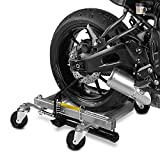 ConStands Motomover Heavy Duty - Motorrad Rangierhilfe für KTM 990 Supermoto SM T Rangierwagen Montageständer Hinterradheber