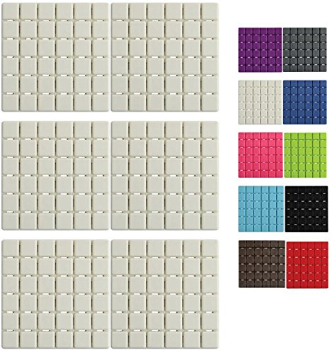 msv-premium-duschmatte-badematte-badewanneneinlage-anti-rutsch-pads-6-stuck-antibakteriell-rutschfes
