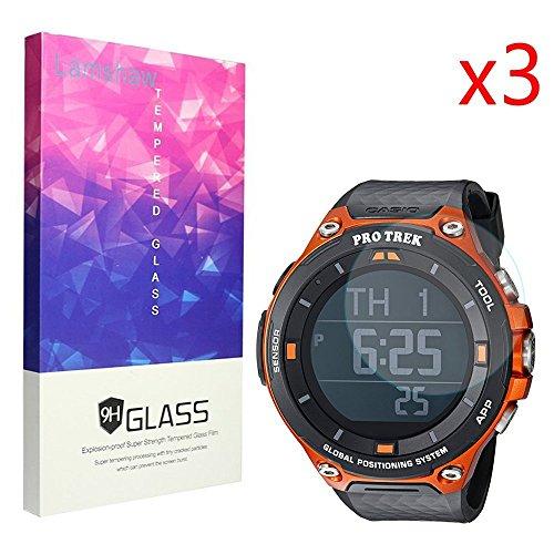 Ceston vetro temperato 9H vetro temperato pellicola protettiva per Casio Smart Watch WSD della F20 ProTrek Smart