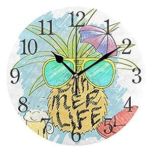 Jxrodekz Reloj de Pared Piña