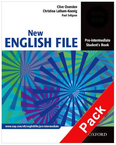 New english file. Pre-intermediate. Workbook. Without key. Per le Scuole superiori. Con Multi-ROM