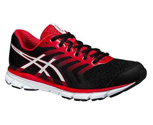 ASICS gel-xalion 3 chaussures de course pour homme - Schwarz/Weiß/Rot