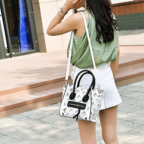 Millya, Borsa a mano donna, white (bianco) - bb-01139-01C white