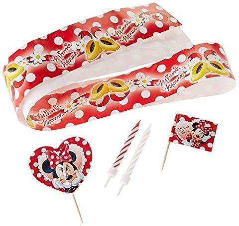 Kit Atelier Cupcake - Disney Minnie Mouse - décoration patissière
