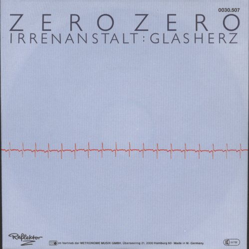 Irrenanstalt / Glasherz [Vinyl Single]