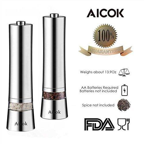 Aicok Salz und Pfeffermühle - 3