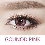 Ncient 1 Año Lentillas Colores Lentes de Suave Multicolo para Gran Diámetro Hermosos Ojos 0 grados Cosplay Maquillaje,Pieza única