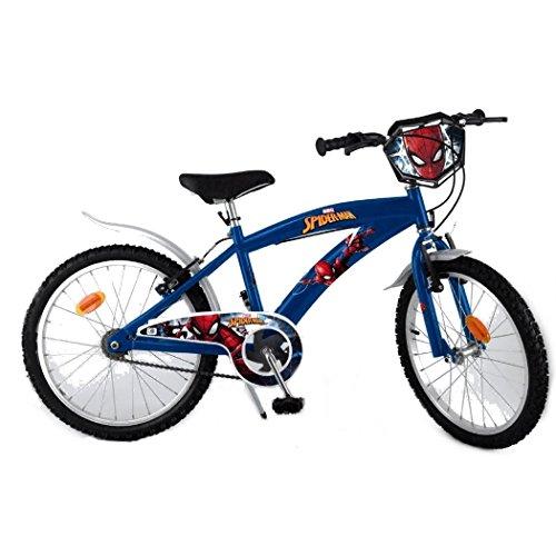 Fahrrad offiziell Spiderman 20 Zoll Disney Kind ()