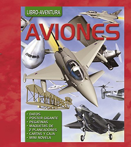 Aviones & Un vuelo de infarto / Airplanes & A fascinating flight por Christine Kidney