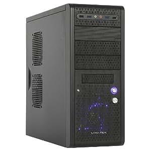 "Cooltek Boîtier Midi Tower ""K3 Evolution USB 3.0"", noir"