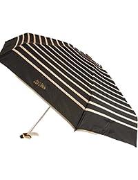 Parapluies Jean-Paul Gaultier - Paraguas plegable amarillento micro rayas