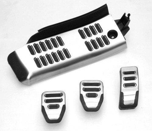 Original Audi Ersatzteile Audi A4 Sport Pedalset + Fußstütze (RS4) Original Tuning