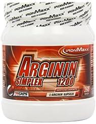 Ironmaxx Arginin Simplex 1200, 260 Kapseln, (1 x 330,3 g)
