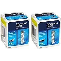Contour-Next Bayer Blood Glucose Test Strips, 100 Count